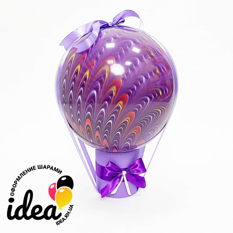 БаблоБокс Фиолетовый павлин