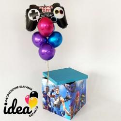 Коробка сюрприз игры (полноцвет 4 стороны)