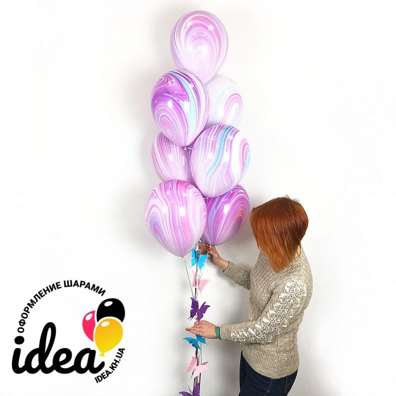Букет шаров Весенние мечты