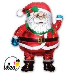 Шар с гелием Санта Клаус 85см