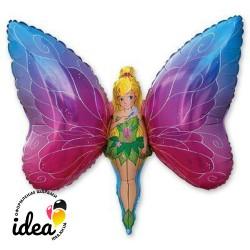 Шар с гелием Фея бабочка 100см