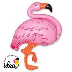 Шар с гелием Фламинго 120см
