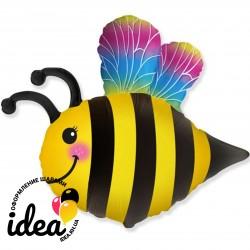 Шар с гелием Пчелка с крыльями 82см