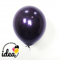 Шар с гелием, обработан HiFloat, стеклянный фиолетовый