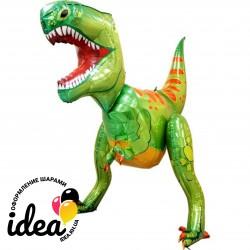 Ходячий шар динозавр 3D