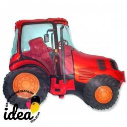 Шар с гелием Трактор красный 95см