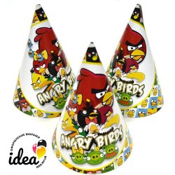 Колпачек Angry birds 15см (3шт)