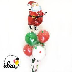 Набор шаров Веселый Санта
