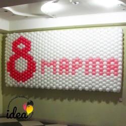 Панно 8 Марта