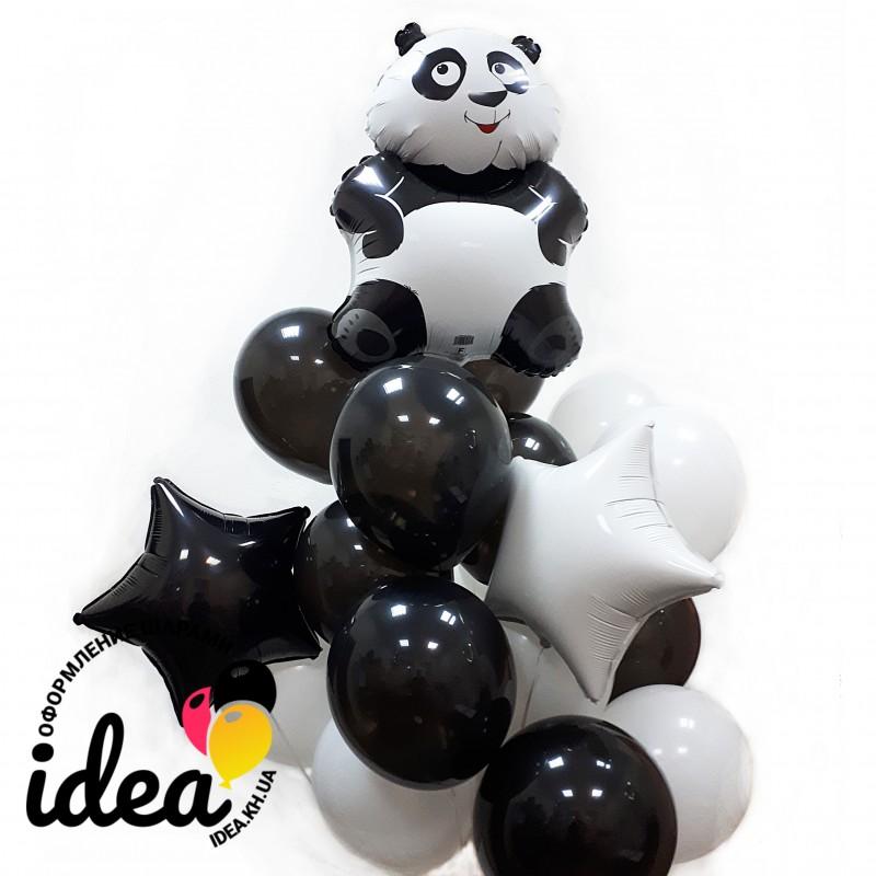 Букет Панда в шарах