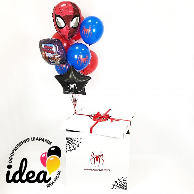 Коробка с сюрпризом (человек паук)