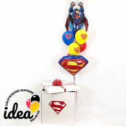 Коробка с сюрпризом (супермен)