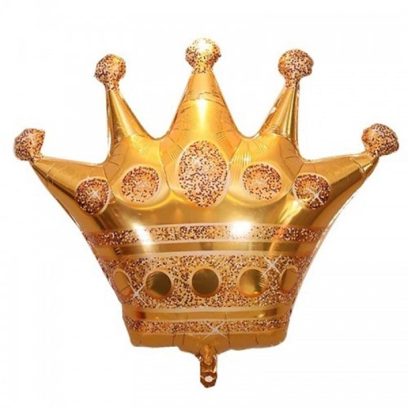 Шар с гелием Фигура Корона большая 100х90см