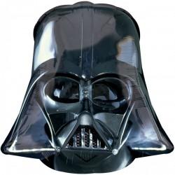 Шар с гелием Фигура Звездные войны шлем Вейдера 63см
