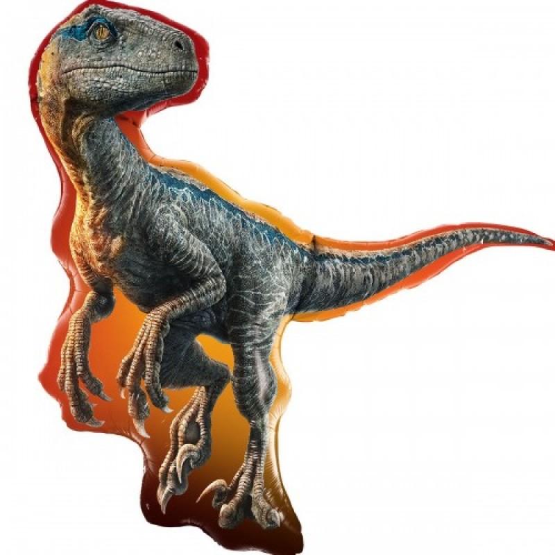 Шар с гелием  Фигура Динозавр Раптор (США) 97см