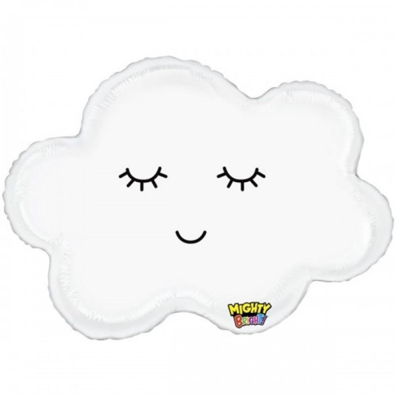 Шар с гелием  Фигура облако спящее 76см