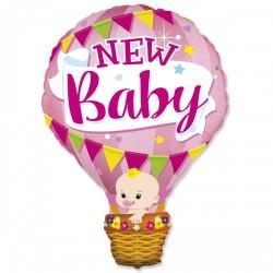 Шар с гелием  Фигура Воздушный шар девочка 90см