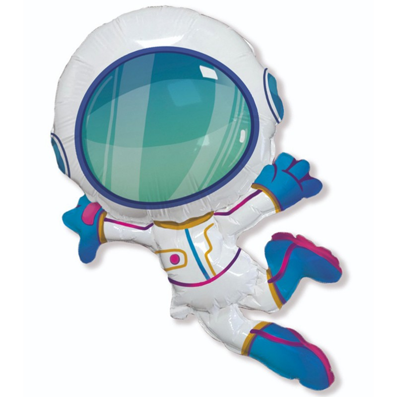 Шар с гелием Космонавт 2  96 см