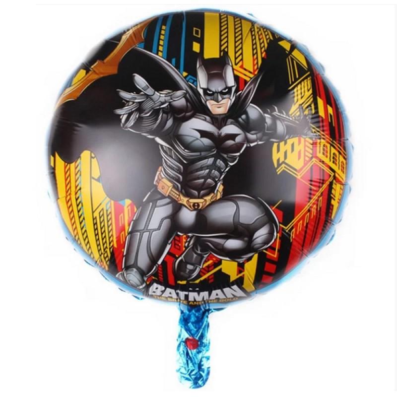 Круг с гелием Бетмен 45см