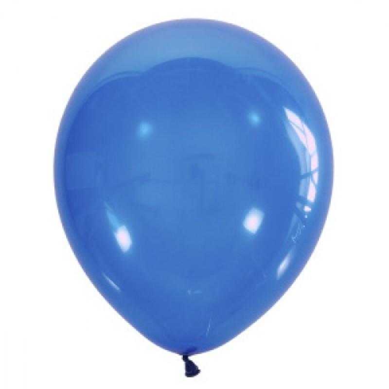 Шар с гелием, обработан HiFloat, NAVY BLUE_043
