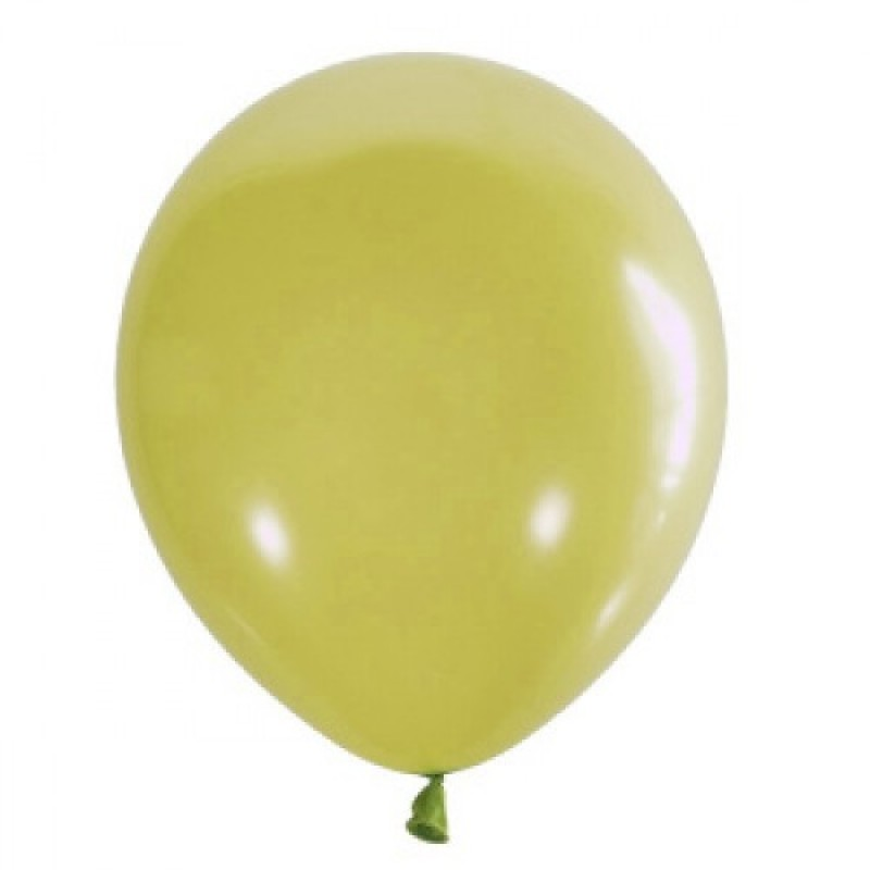 Шар с гелием, обработан HiFloat, APPLE GREEN 399
