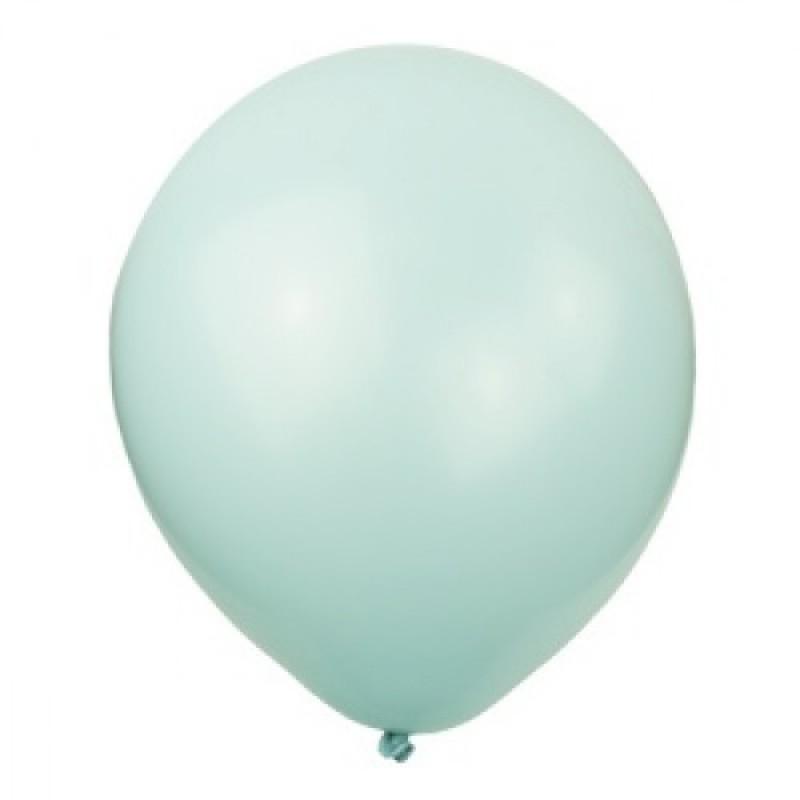 Шар с гелием, обработан HiFloat, VINTAGE BLUE 490