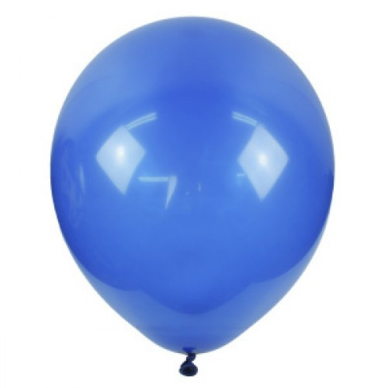 Шар с гелием, обработан HiFloat, MIDNIGHT BLUE 844