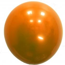 Шар с гелием,  ХРОМ Стеклянный Orange 047 , обработан HiFloat