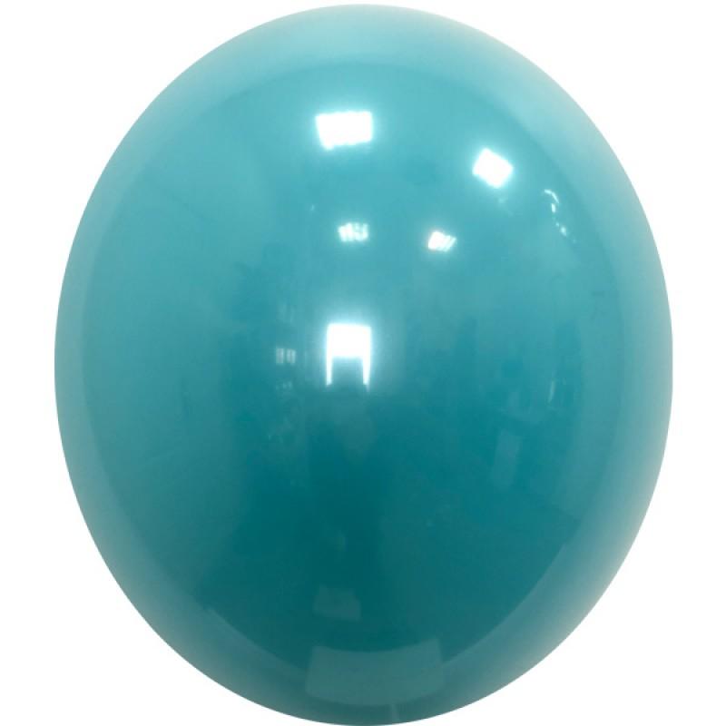 Шар с гелием,Хрустальный AQUA-BLUE-992, обработан HiFloat