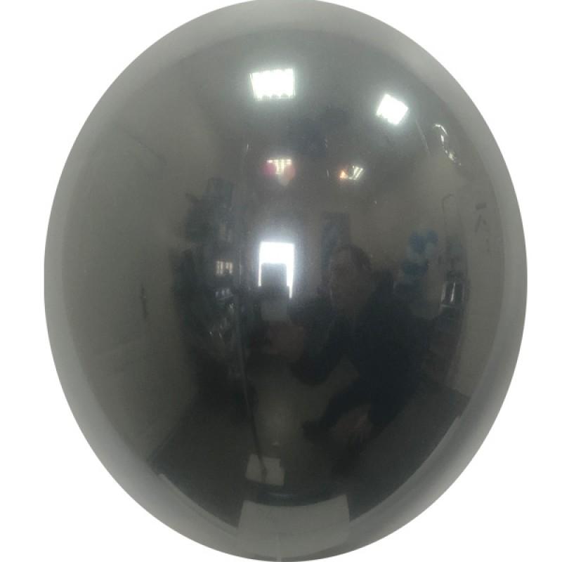 Шар с гелием, Хрустальный BLACK-048, обработан HiFloat