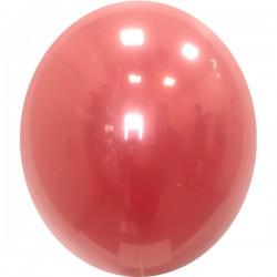 Шар с гелием, Хрустальный CHERRY-RED-058, обработан HiFloat