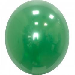 Шар с гелием, Хрустальный EMERALD-GREEN-055, обработан HiFloat