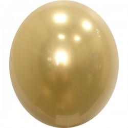 Шар с гелием, Хрустальный GOLD-025, обработан HiFloat