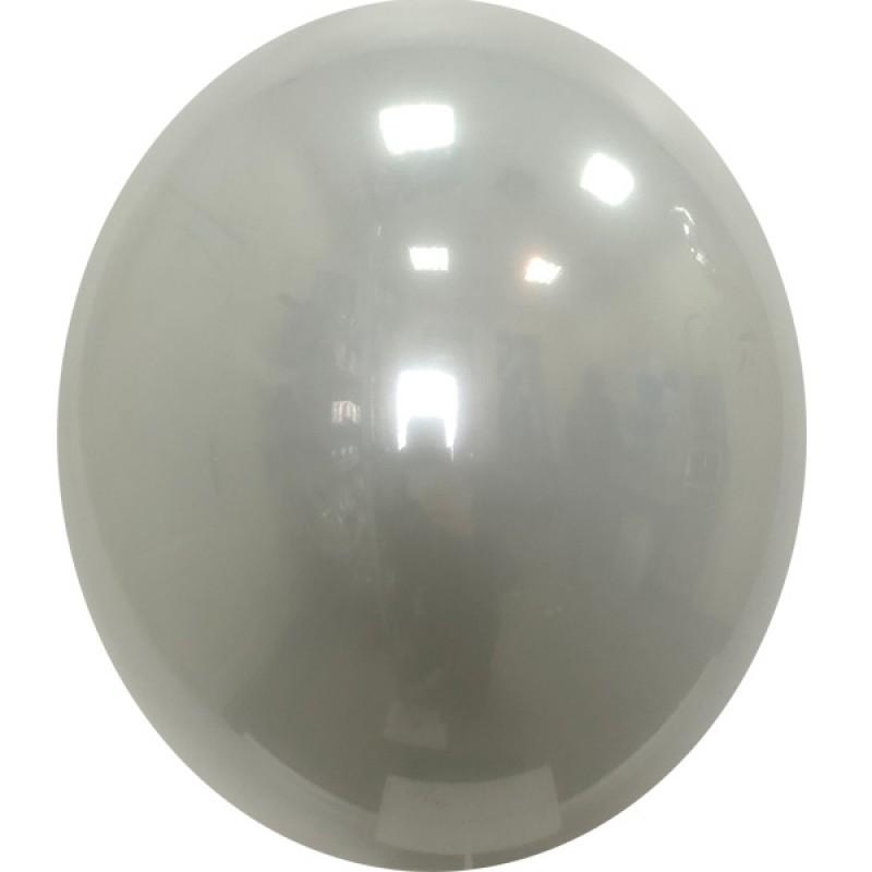 Шар с гелием, Стеклянный GRAY-098, обработан HiFloat