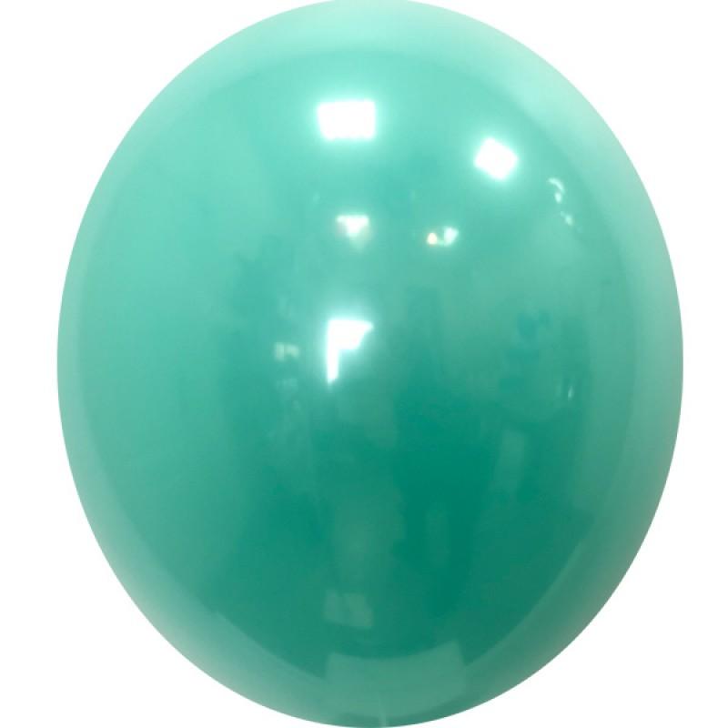 Шар с гелием, Хрустальный LIGHT-GREEN-008, обработан HiFloat
