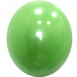 Шар с гелием, Хрустальный LIME-GREEN-065, обработан HiFloat