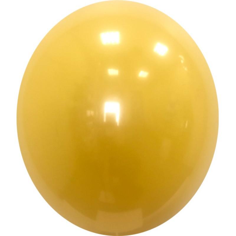 Шар с гелием, Стеклянный MANDARINA-062, обработан HiFloat