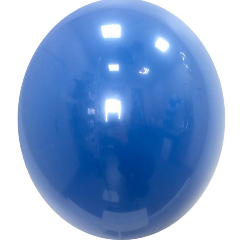 Шар с гелием, Хрустальный ROYAL-BLUE-044, обработан HiFloat