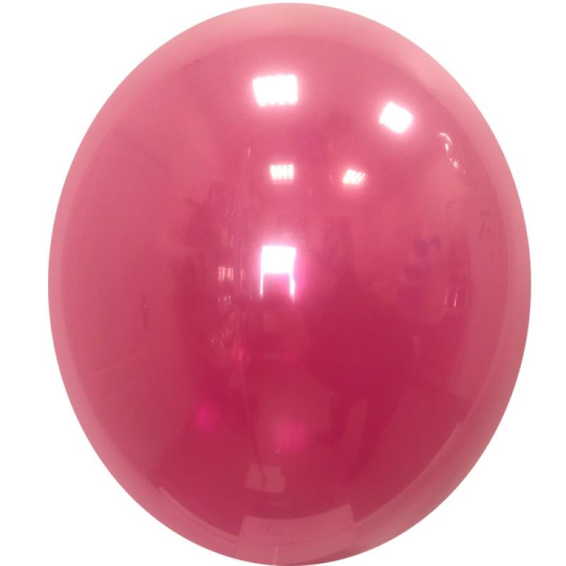 Шар с гелием, Стеклянный RUBY-RED-051, обработан HiFloat