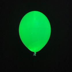 Шар с гелием светящийся, зеленый
